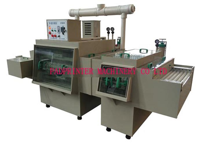 Automatic metal plate etching machine,semi auto acid etching machine equipment, one-sided / two sided flat sheet stainless steel etching machine with cleaning system