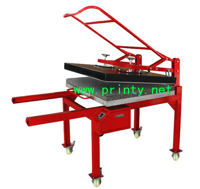 Large size manual heat press machine,Large format heat transfer machine,Manufacture wholesale large format manual heat press machine heat transfer equipment